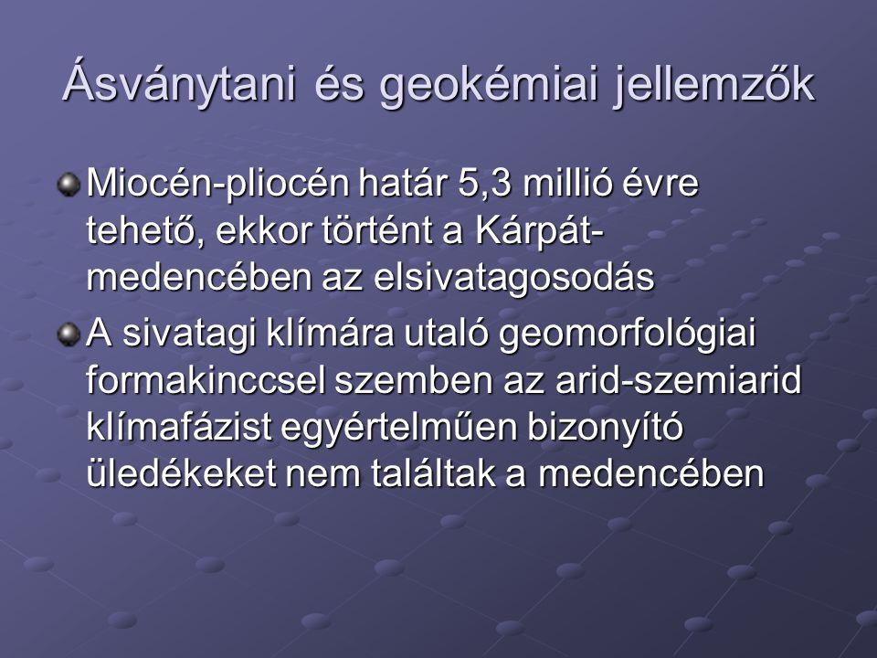 Ásványtani és geokémiai jellemzők
