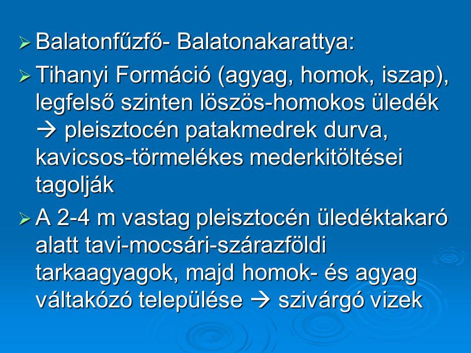 Balatonfűzfő- Balatonakarattya: