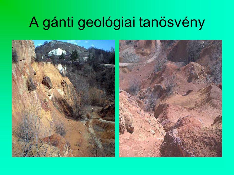 A gánti geológiai tanösvény