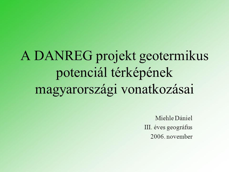 Miehle Dániel III. éves geográfus 2006. november