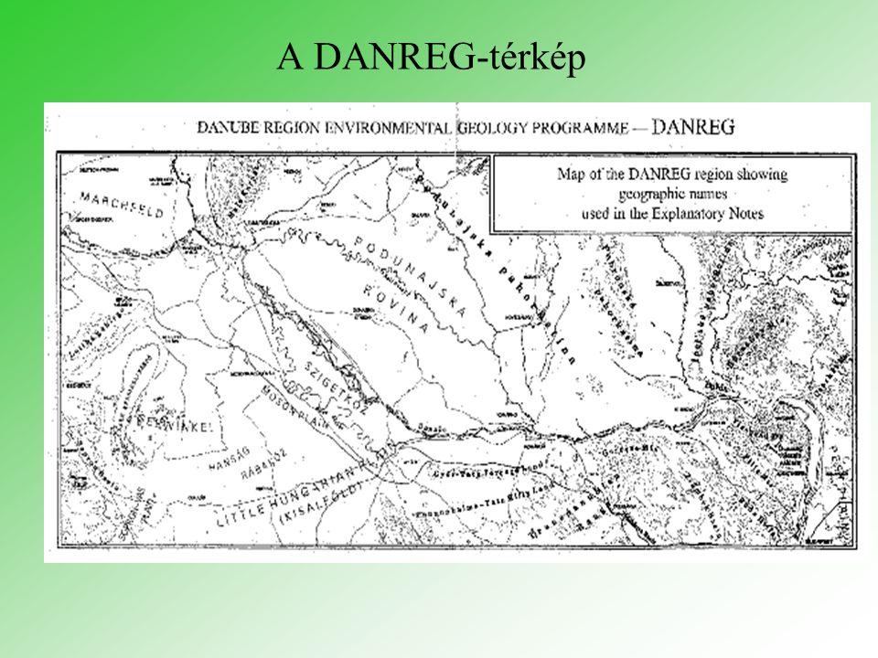 A DANREG-térkép
