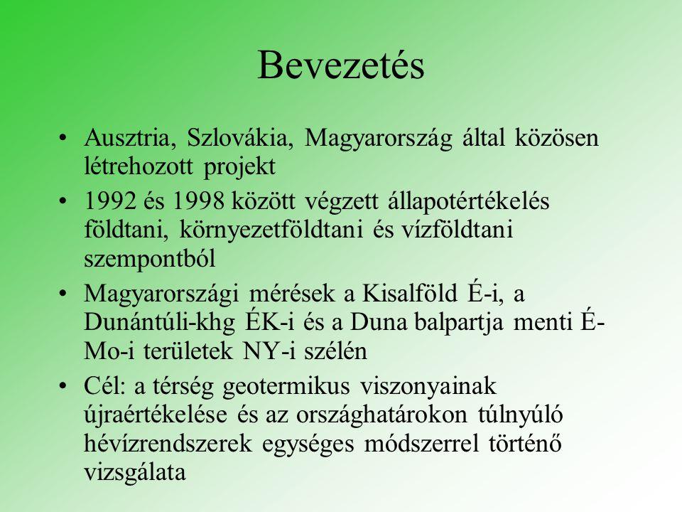 Bevezetés Ausztria, Szlovákia, Magyarország által közösen létrehozott projekt.