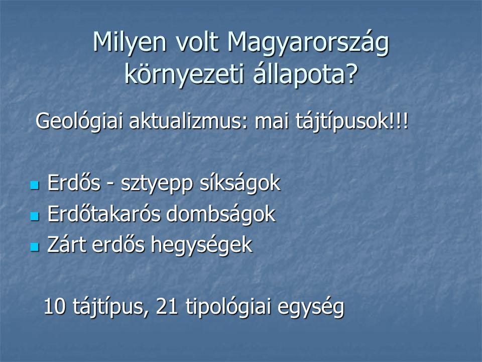 Milyen volt Magyarország környezeti állapota
