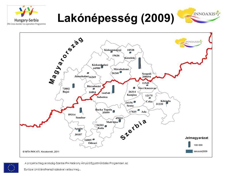 Lakónépesség (2009)