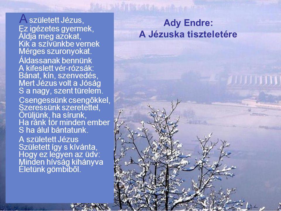 Ady Endre: A Jézuska tiszteletére