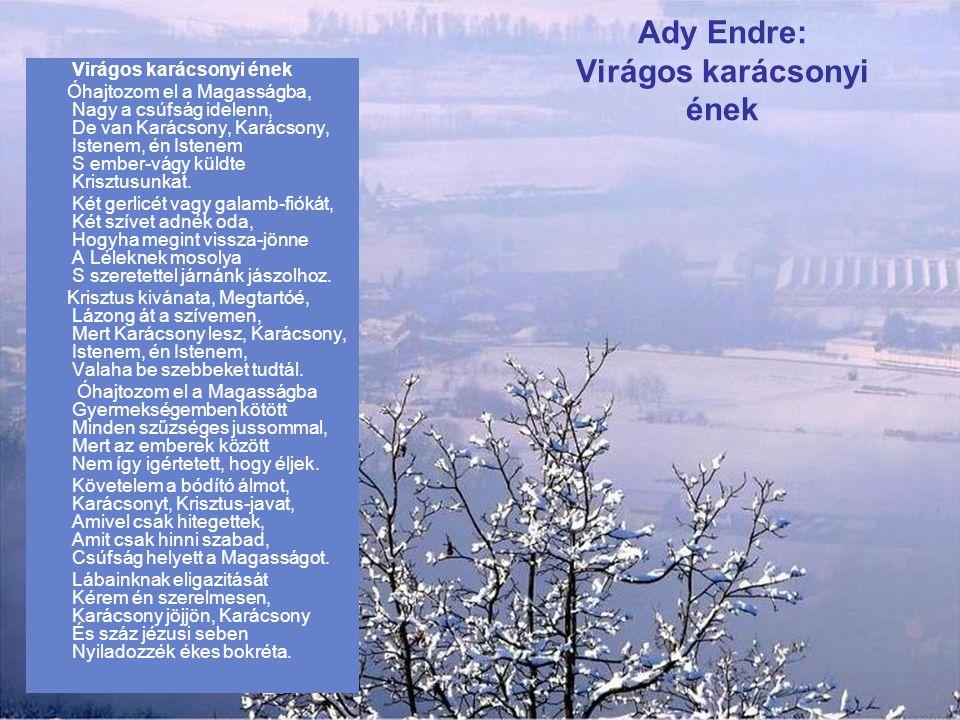 Ady Endre: Virágos karácsonyi ének