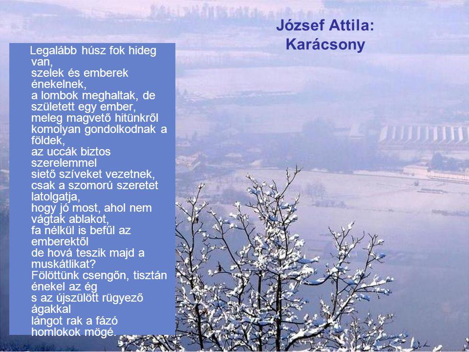 József Attila: Karácsony