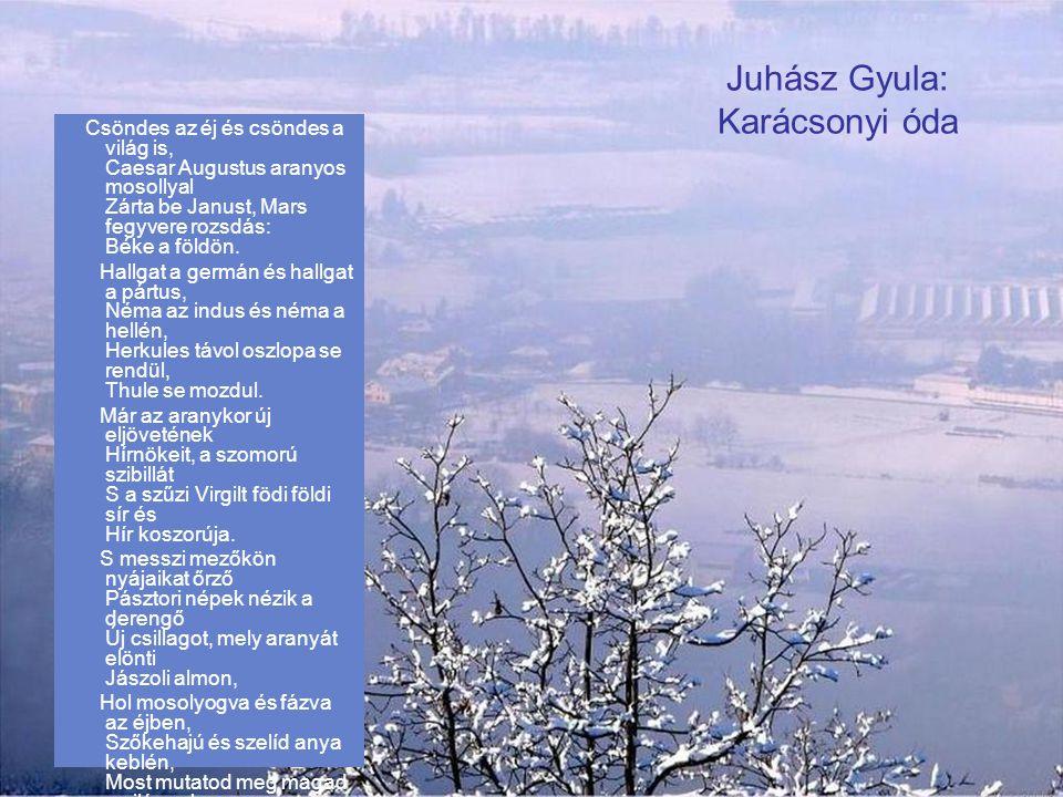 Juhász Gyula: Karácsonyi óda