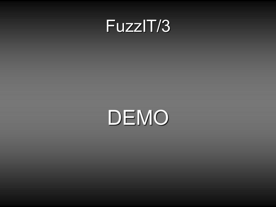 FuzzIT/3 DEMO