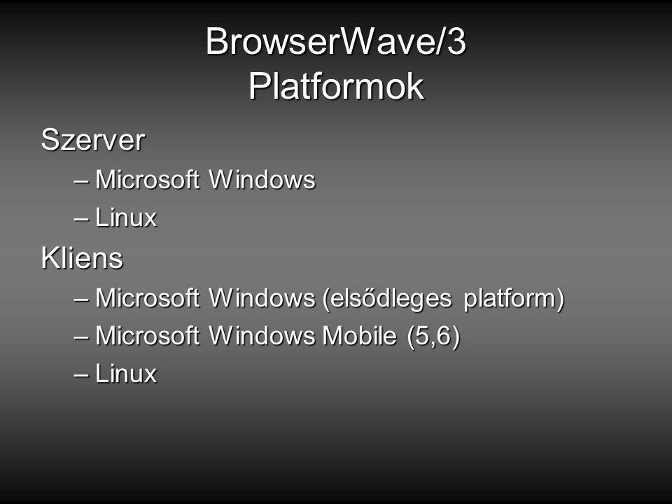 BrowserWave/3 Platformok