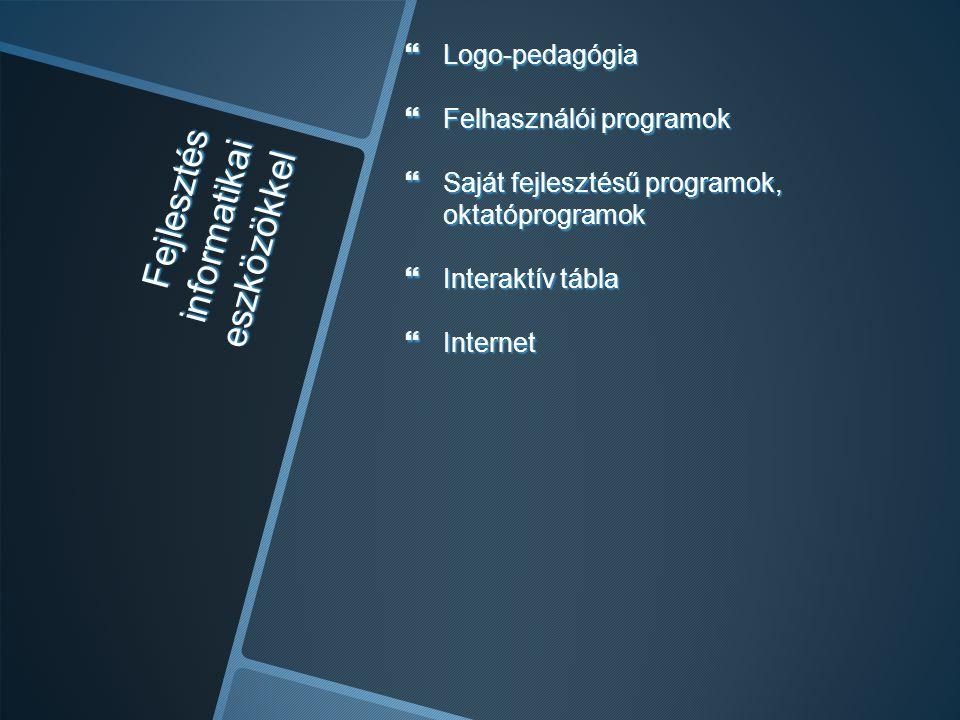 Fejlesztés informatikai eszközökkel
