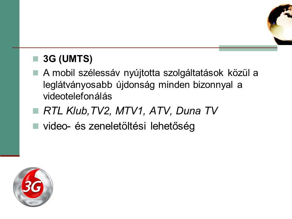 RTL Klub,TV2, MTV1, ATV, Duna TV video- és zeneletöltési lehetőség