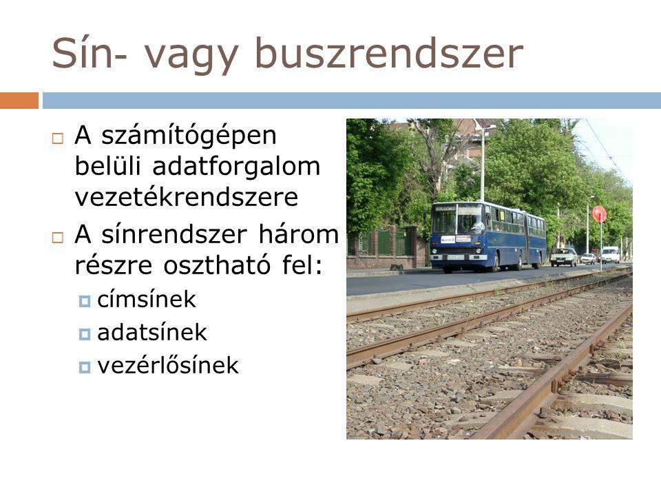 Sín- vagy buszrendszer