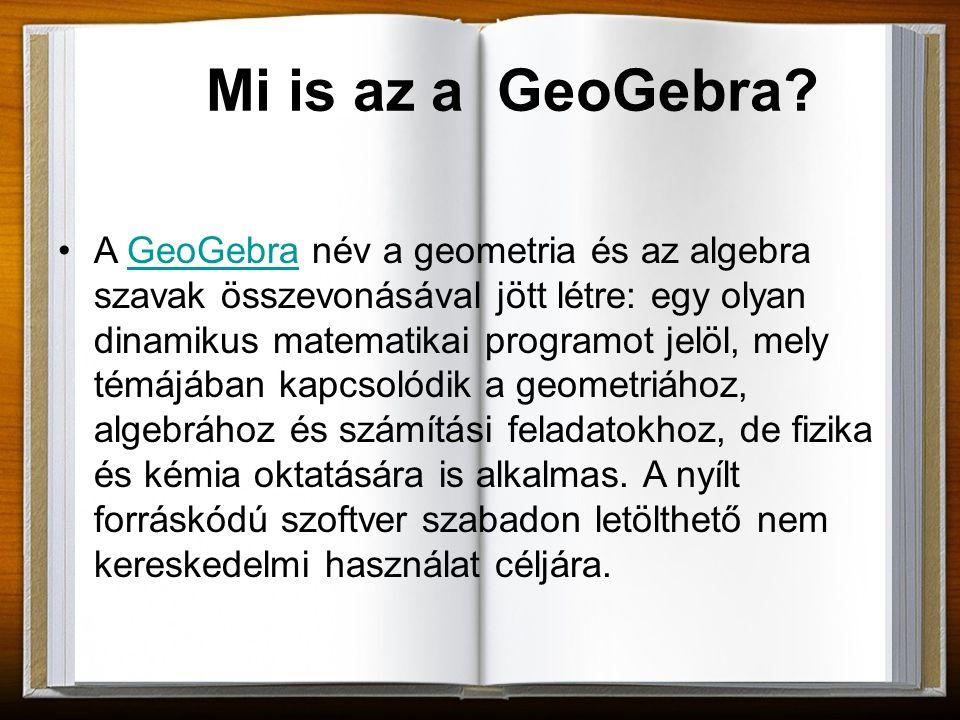 Mi is az a GeoGebra