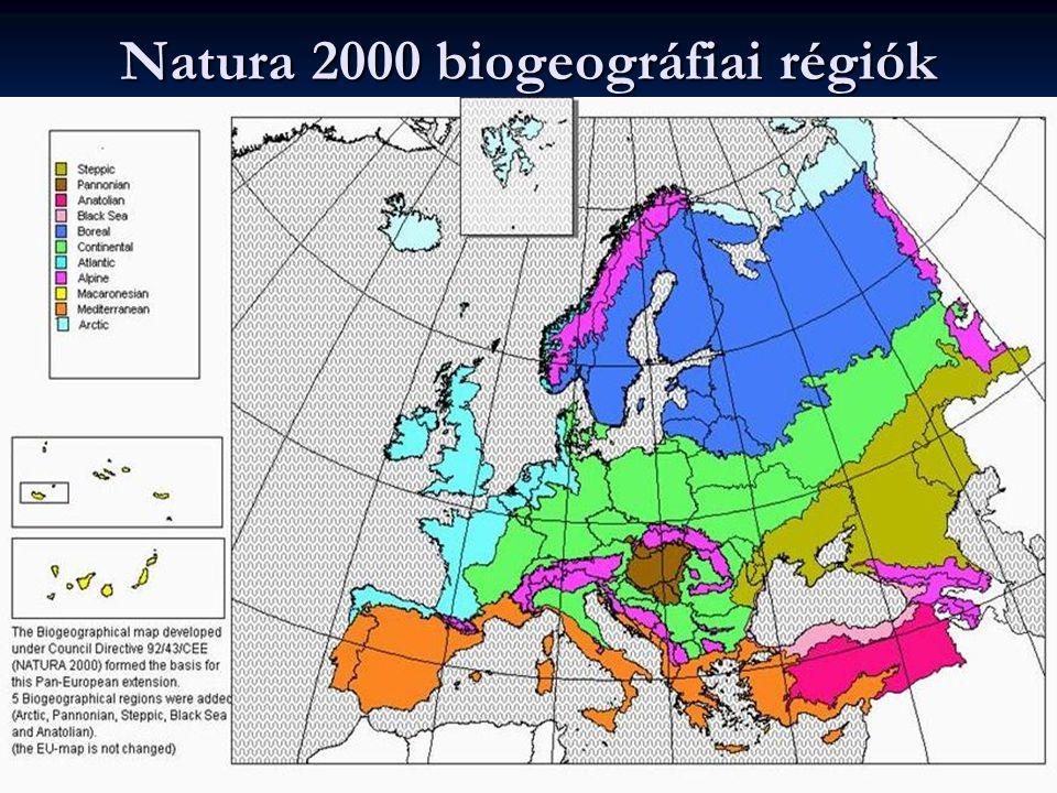 Natura 2000 biogeográfiai régiók