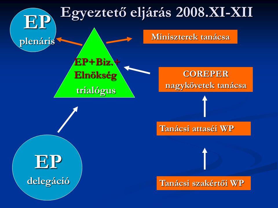 Egyeztető eljárás 2008.XI-XII