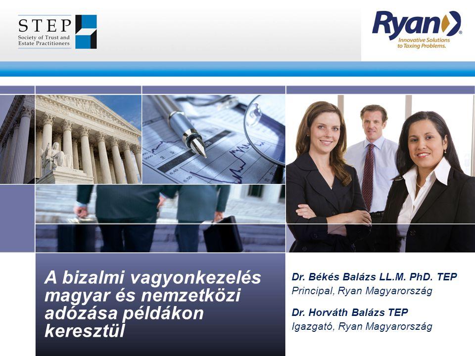 A bizalmi vagyonkezelés magyar és nemzetközi adózása példákon keresztül