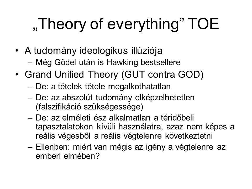"""Theory of everything TOE"