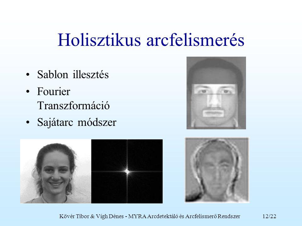 Holisztikus arcfelismerés