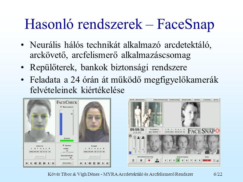 Hasonló rendszerek – FaceSnap