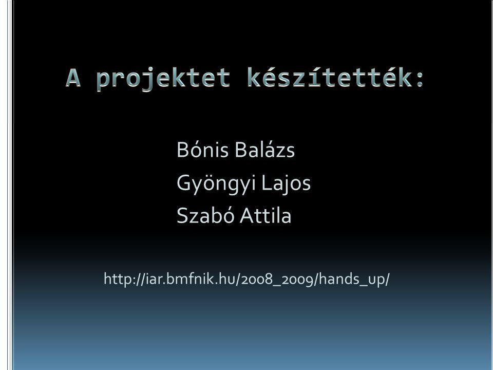 A projektet készítették:
