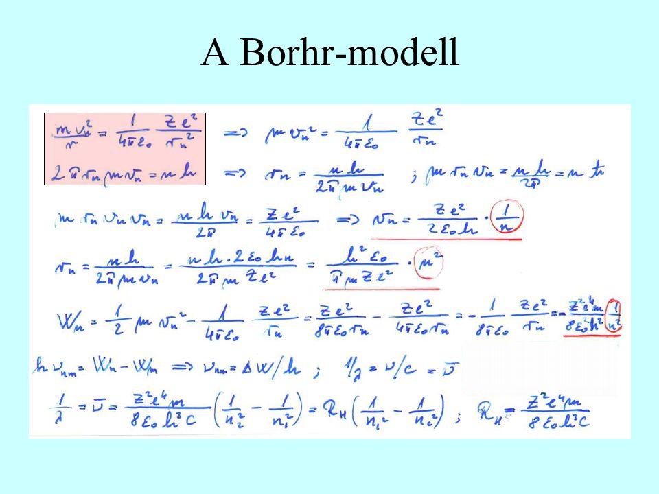 A Borhr-modell