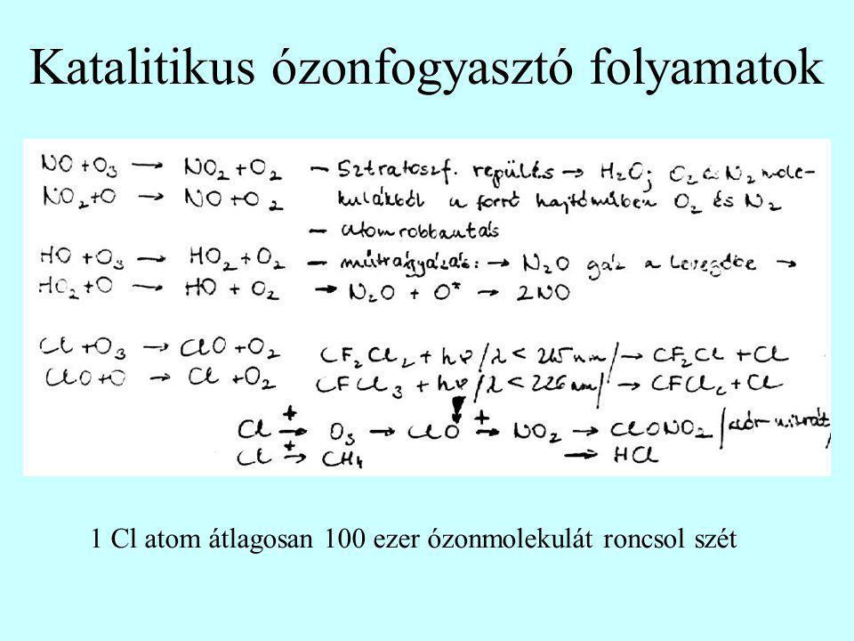 Katalitikus ózonfogyasztó folyamatok