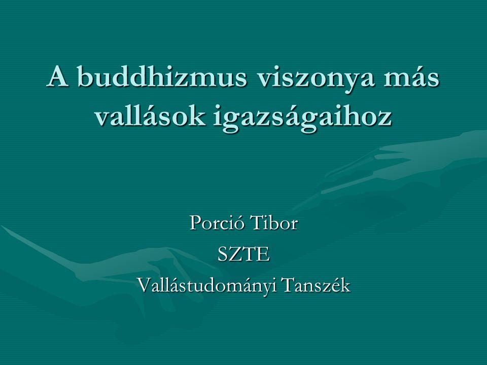A buddhizmus viszonya más vallások igazságaihoz