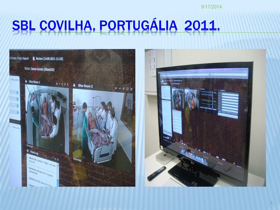 SBL COVILHA, Portugália 2011.