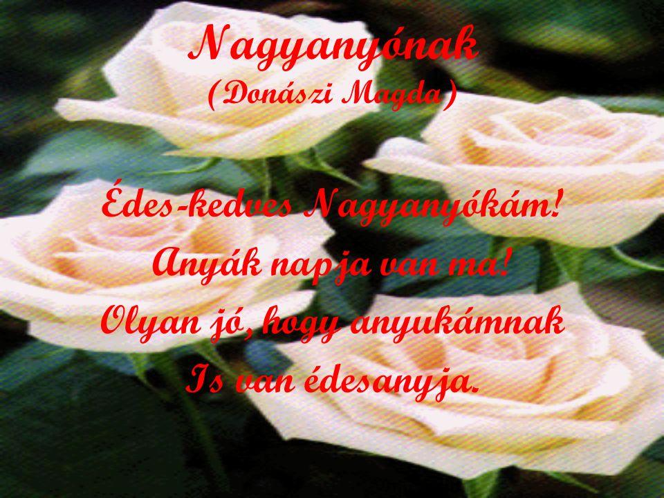 Nagyanyónak (Donászi Magda)