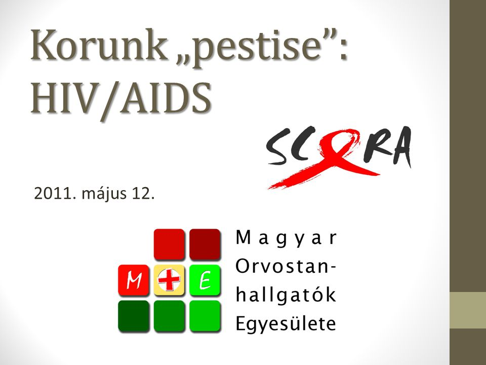 "Korunk ""pestise : HIV/AIDS"