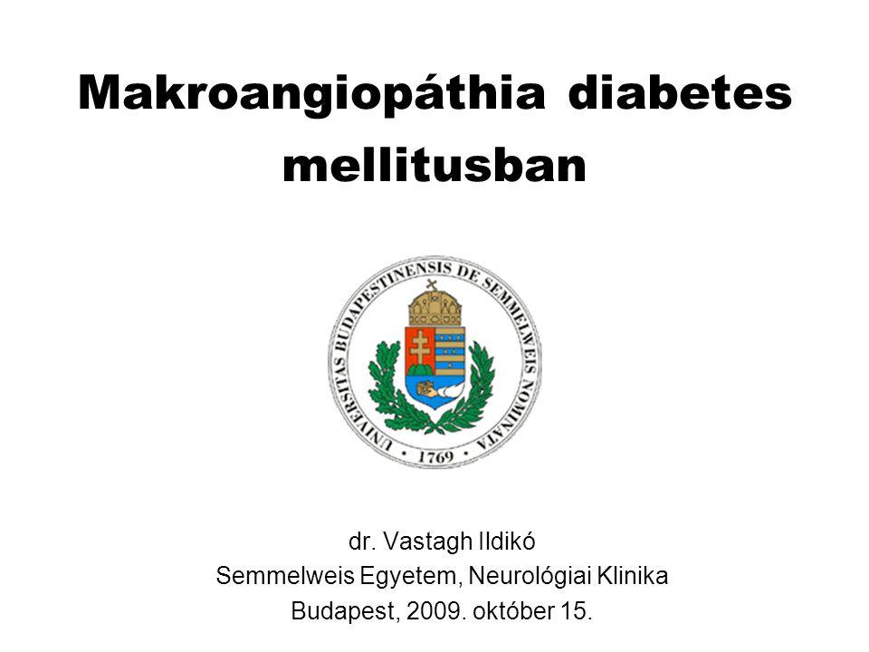 Makroangiopáthia diabetes mellitusban