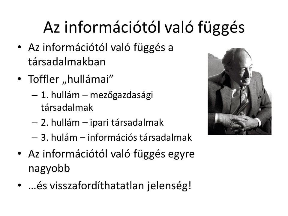 Az információtól való függés