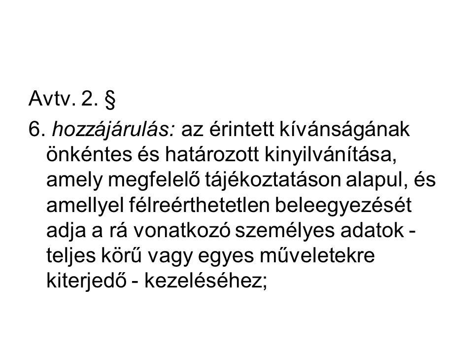 Avtv. 2. §