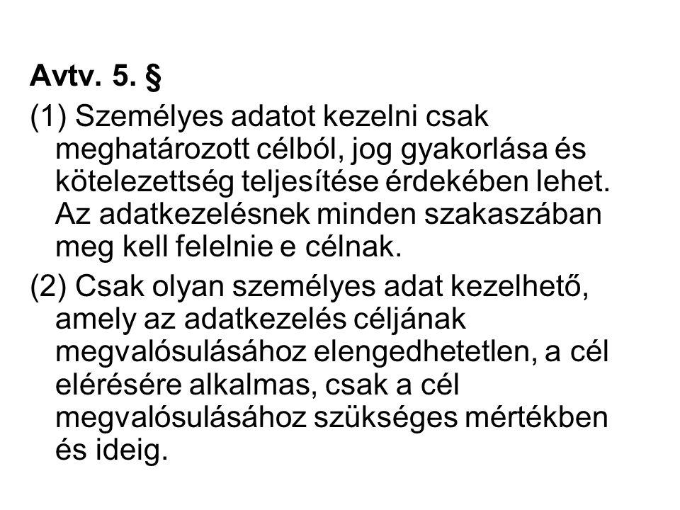 Avtv. 5. §