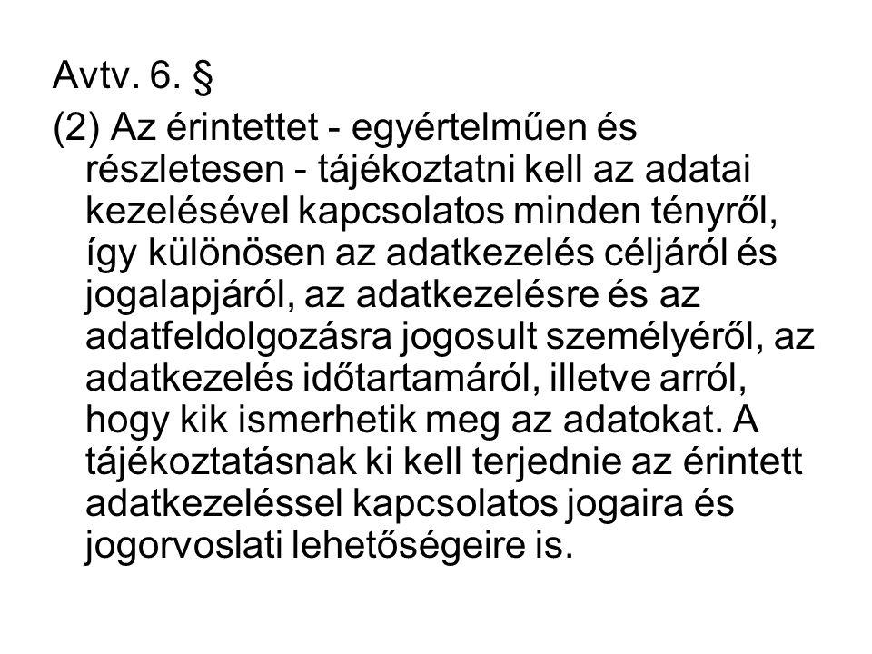Avtv. 6. §
