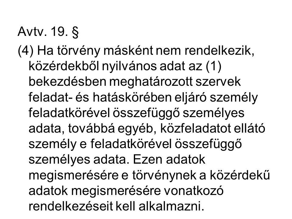 Avtv. 19. §