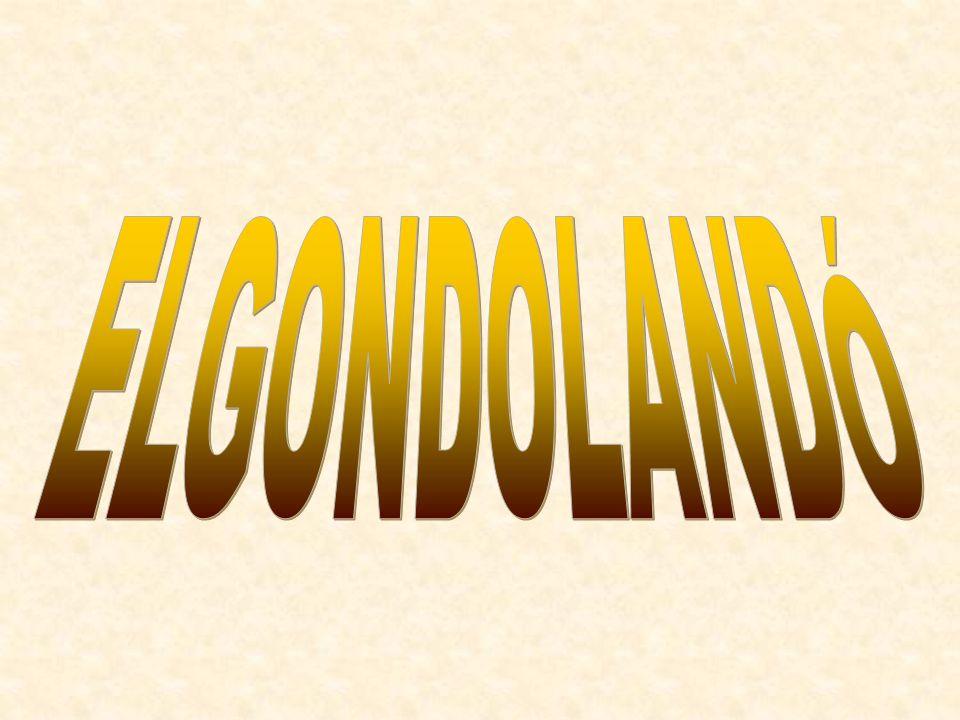 ELGONDOLANDÓ