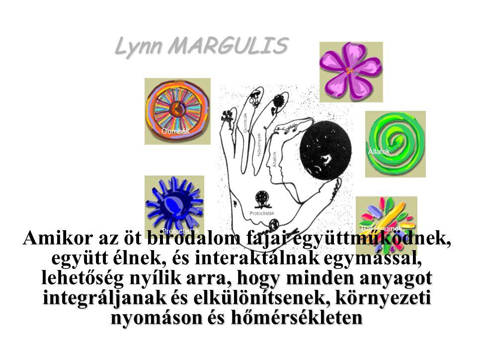 Lynn MARGULIS Protoctisták. Baktériumok. Állatok. Gombák. Növények.