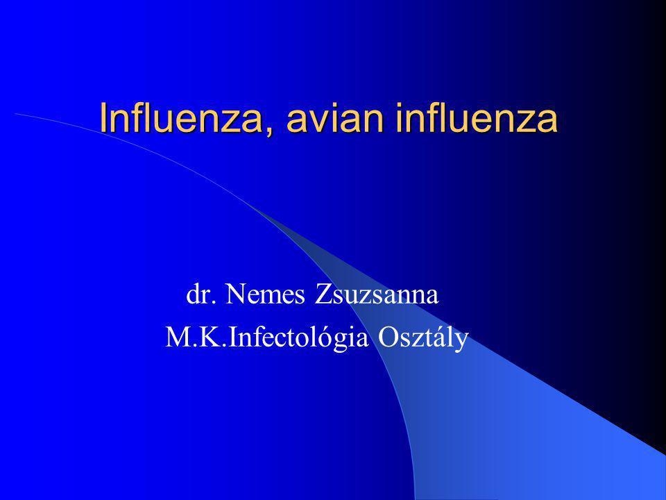 Influenza, avian influenza