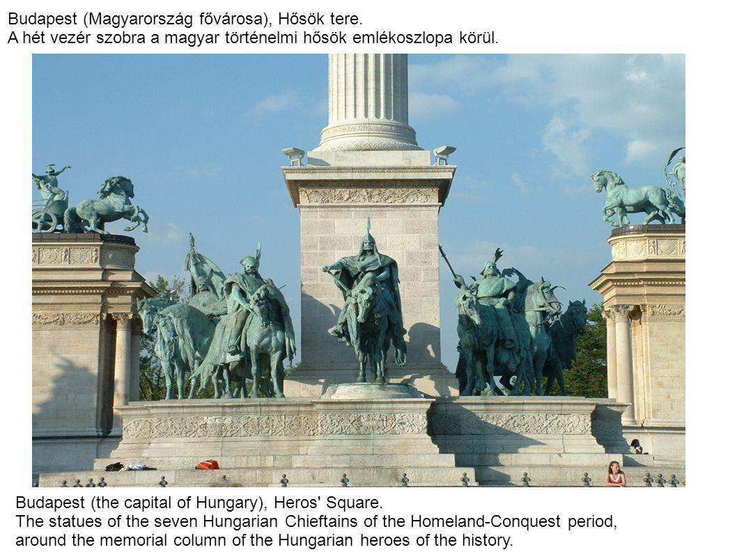 Budapest (Magyarország fővárosa), Hősök tere.