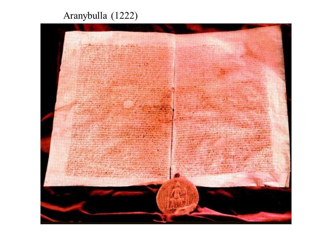 Aranybulla (1222)