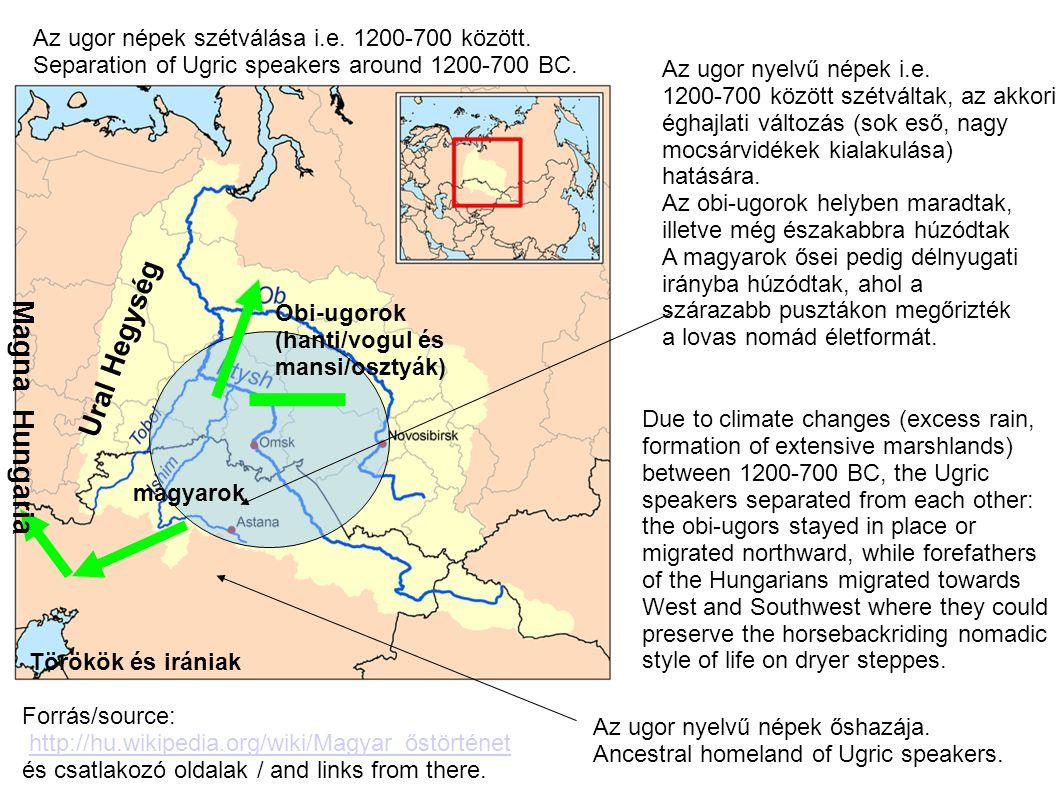 Ural Hegység Magna Hungaria