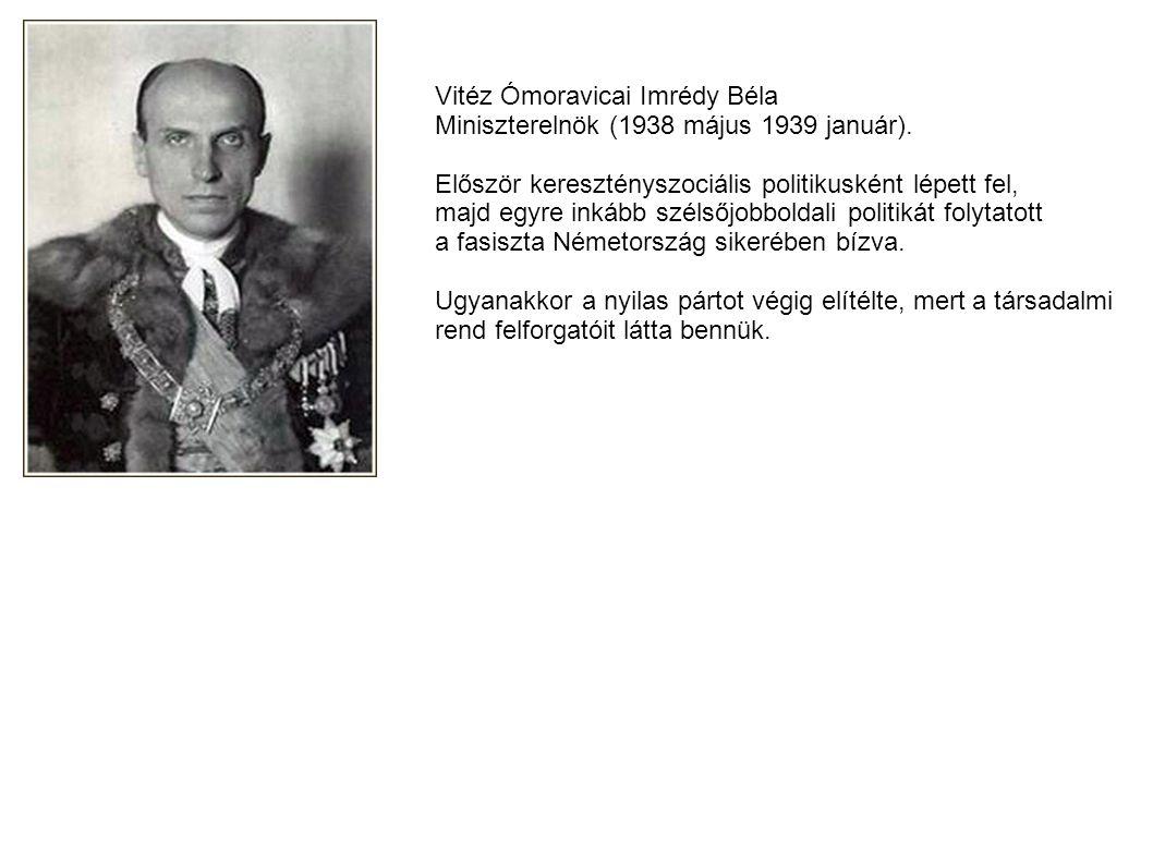 Vitéz Ómoravicai Imrédy Béla