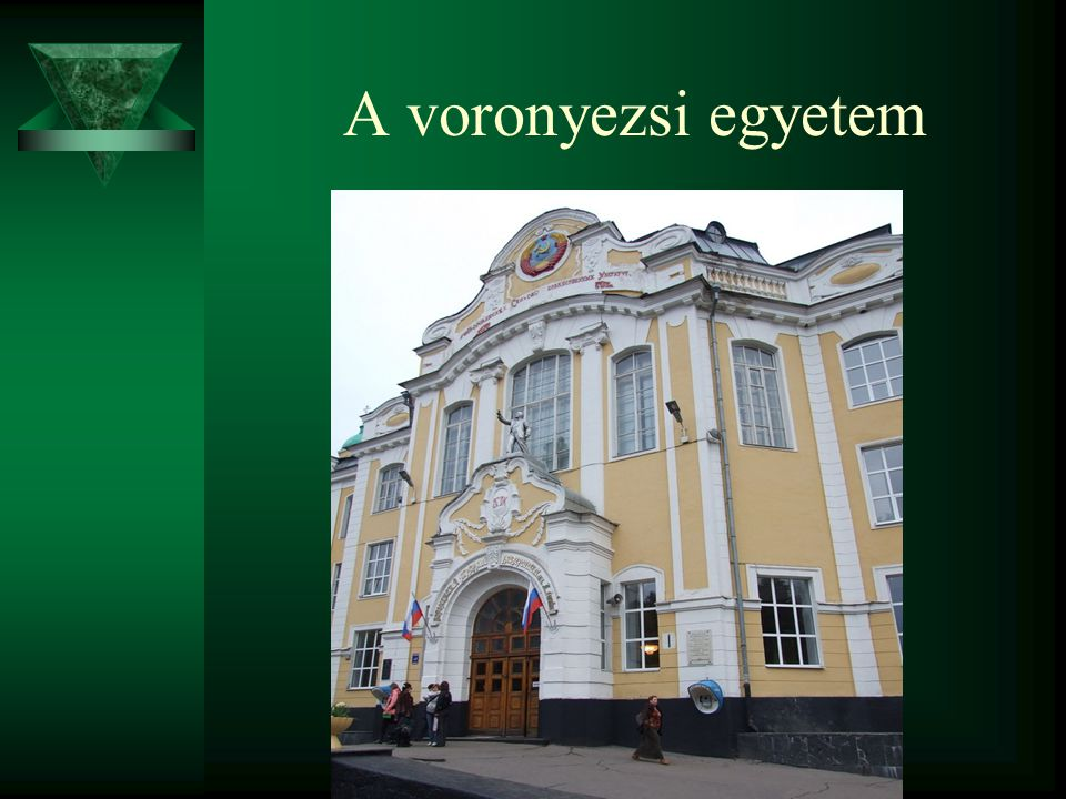 A voronyezsi egyetem