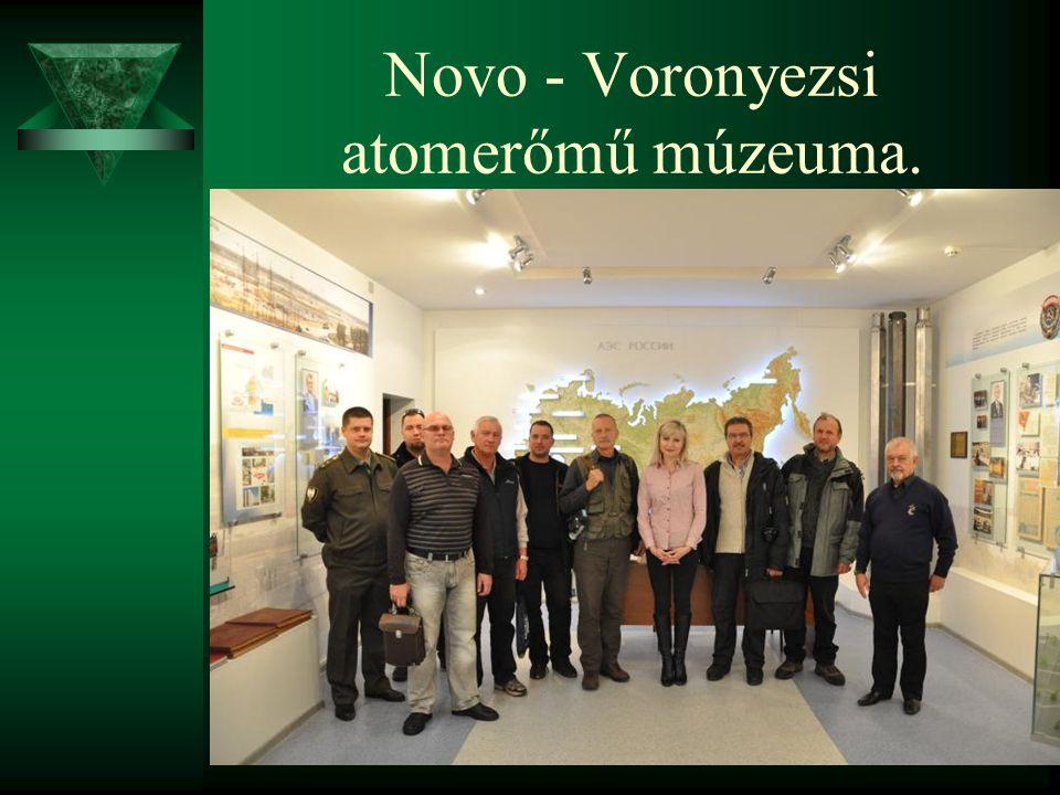 Novo - Voronyezsi atomerőmű múzeuma.