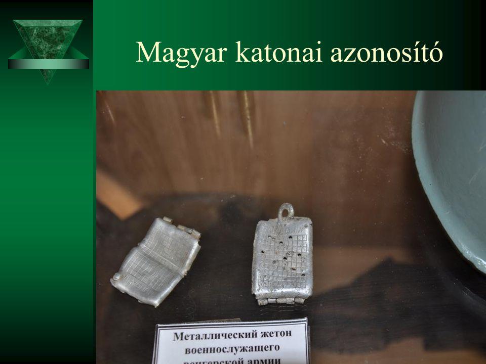 Magyar katonai azonosító
