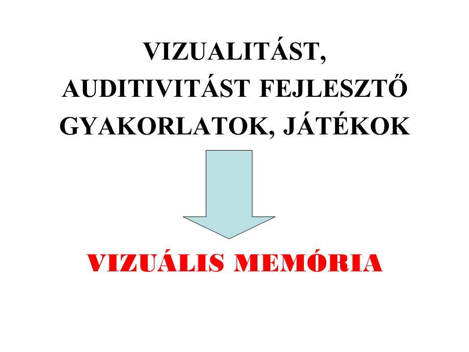 AUDITIVITÁST FEJLESZTŐ