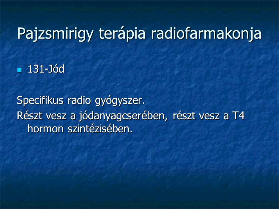 Pajzsmirigy terápia radiofarmakonja