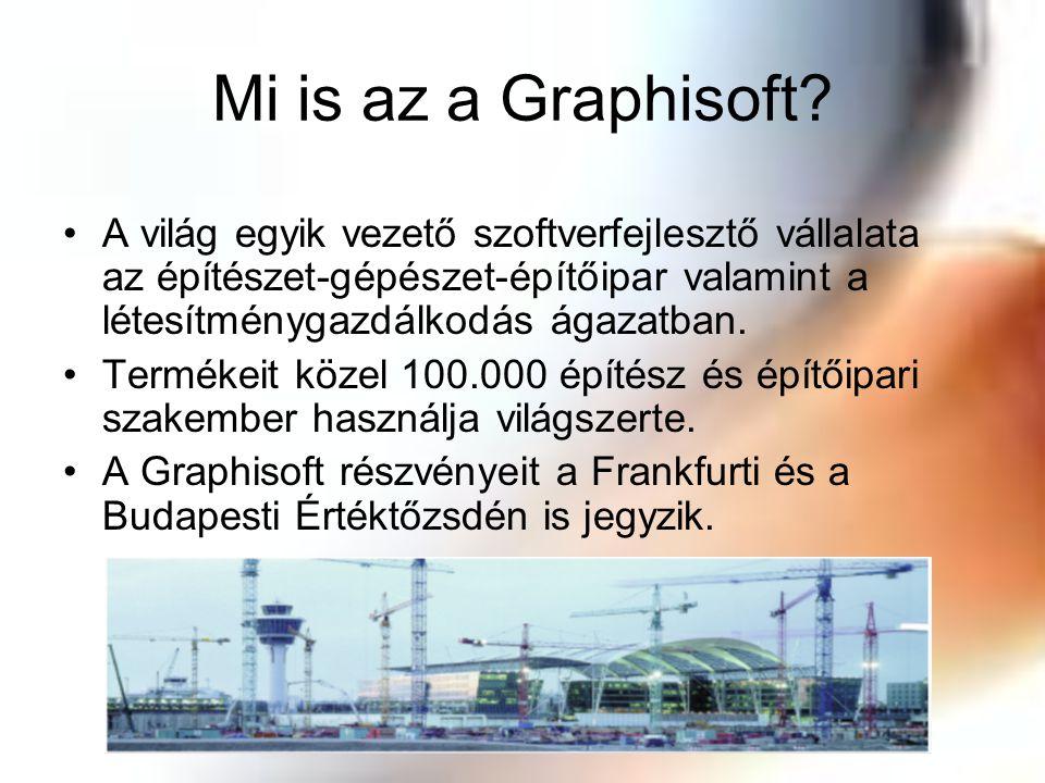 Mi is az a Graphisoft A világ egyik vezető szoftverfejlesztő vállalata az építészet-gépészet-építőipar valamint a létesítménygazdálkodás ágazatban.